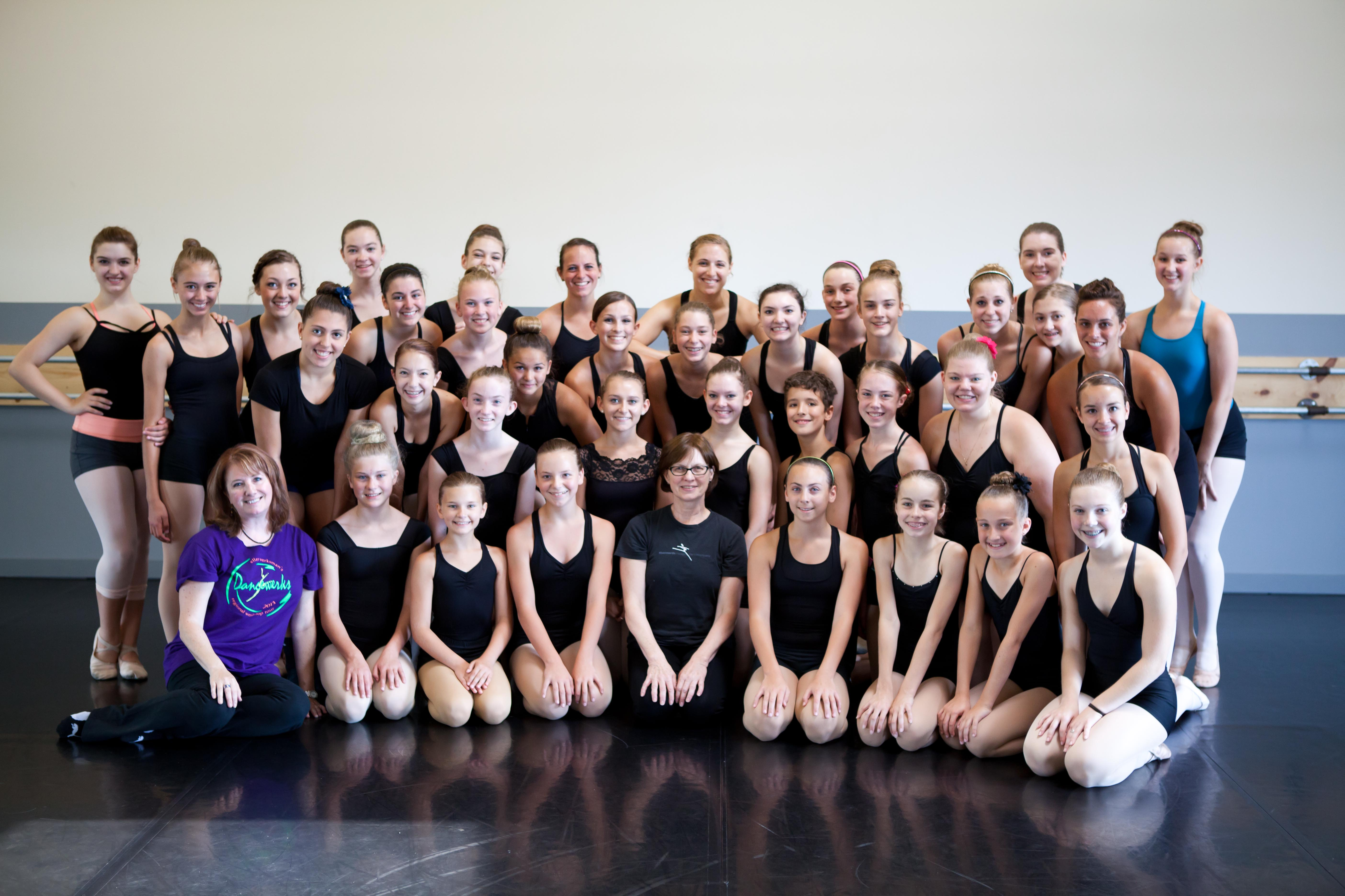 2013 Chicago Day of Dance with teacher Claire Bataille